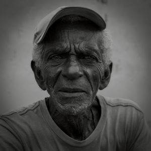 Daniela Contini Cuban man Trinidad, portrait