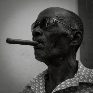 Daniela Contini Cubano, Havana, Black and White, Portrait