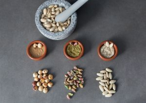 nuts, nuts paste, food photography