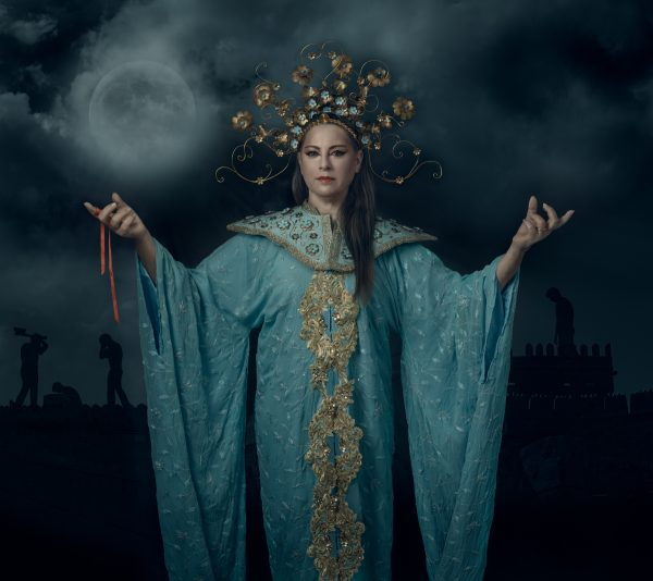 Turandot Fine art photography portrait - צילום אמנותי של דמות של טורנדות