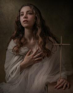 fineart photography, portrait, compositing, צילום פורטרטת, פורטרט אמנותי, דניאלה קונטיני