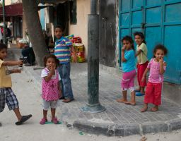 Children of Jisr Az-Zarqa
